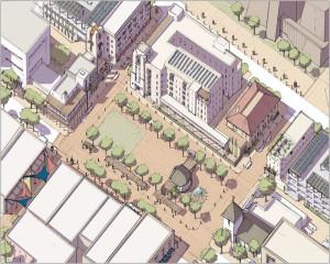 Downtown Las Cruces Plaza Concept