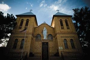 historic san albino church mesilla NM