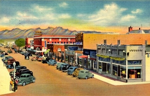 Downtown Las Cruces before Urban Renewal