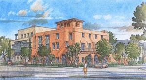 Main Street Housing/Mixed Use Design Concept